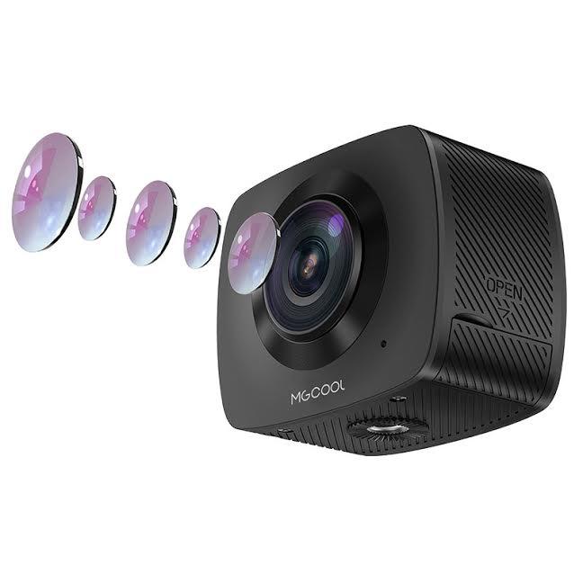 MGCOOL Cam 360 dual fish-eye lens